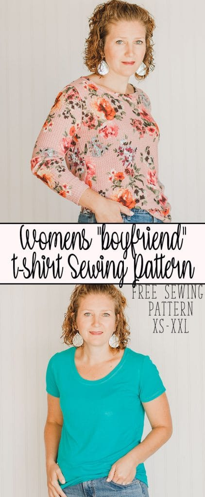 How to sew a shirt boyfriend style free shirt sewing pattern for women from Life Sew Savory