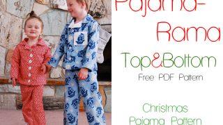Pajama Rama! Christmas Pajamas {Free PDF Pattern}