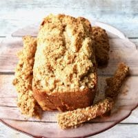 Apple Crumb Bread