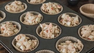 Apple Cupcakes recipe with caramel frosting