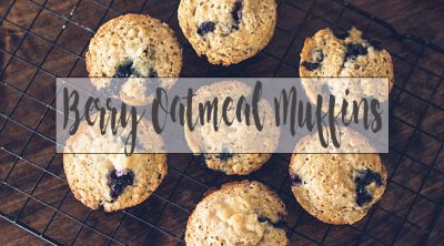 blueberry oatmeal muffin recipe