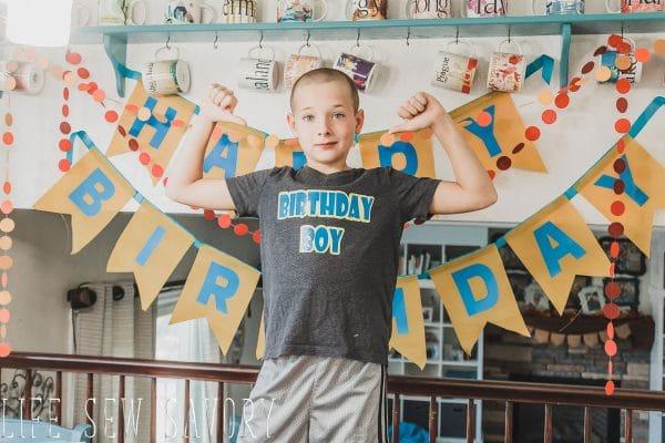 birthday boy or girl free svg cut file