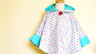 Circle Poncho DIY - The Sewing Rabbit