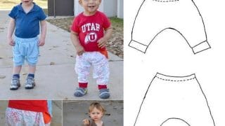 Harem Pants and Shorts Pattern | Bluprint