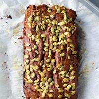 Flourless Pumpkin Bread (Gluten and Dairy Free)