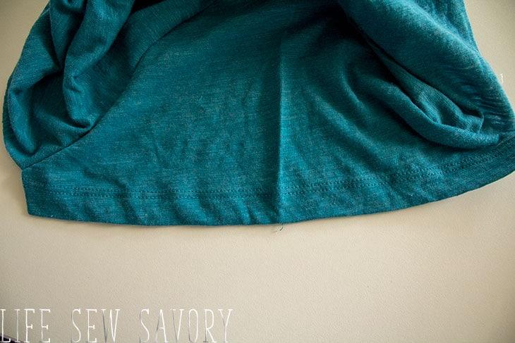 short sleeve hems