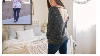 Lounge & Lace Collection- Women's Stella Sweater Top & Tunic