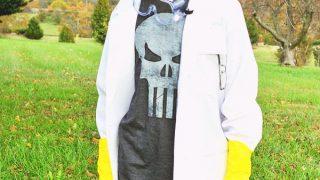 Easy DIY Mad Scientist Costume - No Sew!