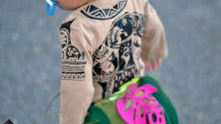 DIY Maui Costume for Halloween | Toddler Disney Costume