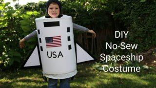 Spaceship Costume DIY