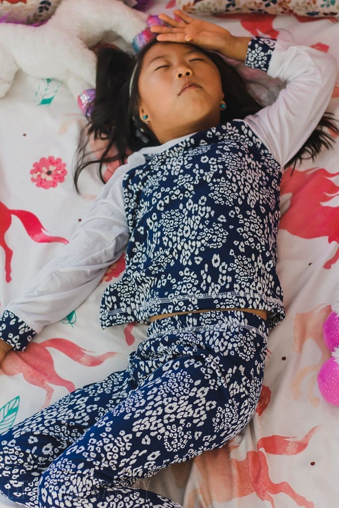 sleeping in free pj pattern