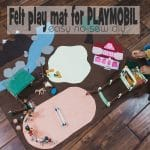 How to make an easy felt play mat for kids