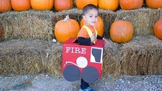 DIY Fire Truck Costume