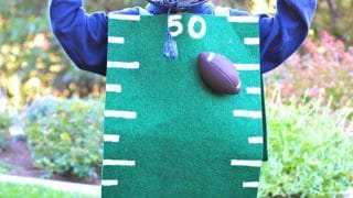 Football Field {Dollar Store} Costume