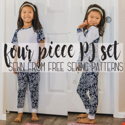 Free Kids Pajama Pattern – Coordinating set