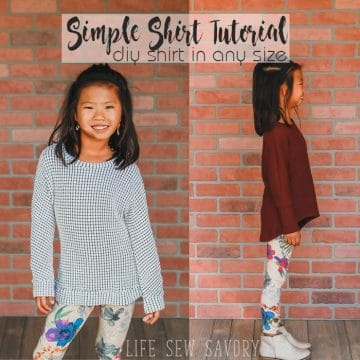 make your own shirt diy sewing tutorial