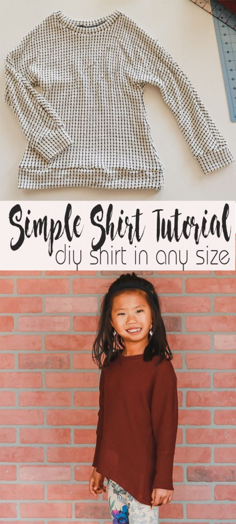 simple shirt tutorial sew a shirt tutorial easy DIY in any size from life sew savory