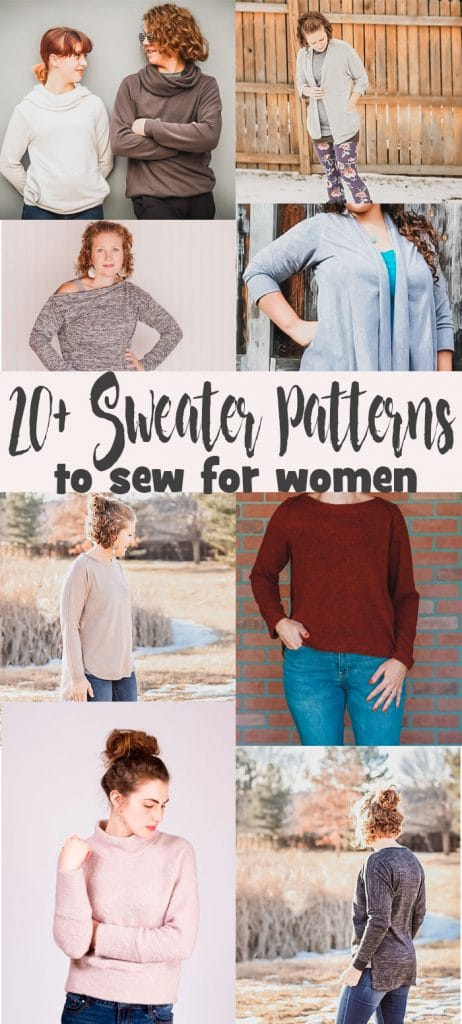 sweater patterns to sew for women a huge list of pdf sewing patterns from Life Sew Savory
