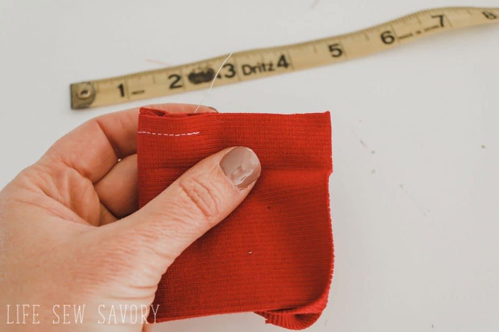sew a cuff