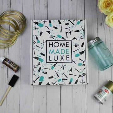 Home Made Luxe Craft Kit Subscription Box