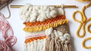Woven Yarn Fall Wall Hanging