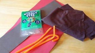 Scrap Fabric Thanksgiving Turkey Craft