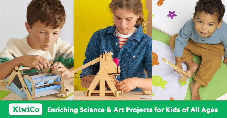 KiwiCo | STEM, STEAM & Science Kits for Kids