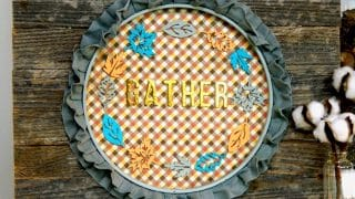GATHER Pallet Sign