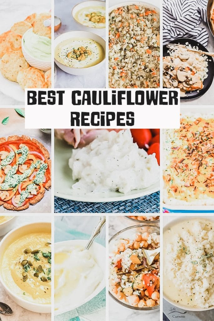 best cauliflower recipes to try from Life Sew Savory