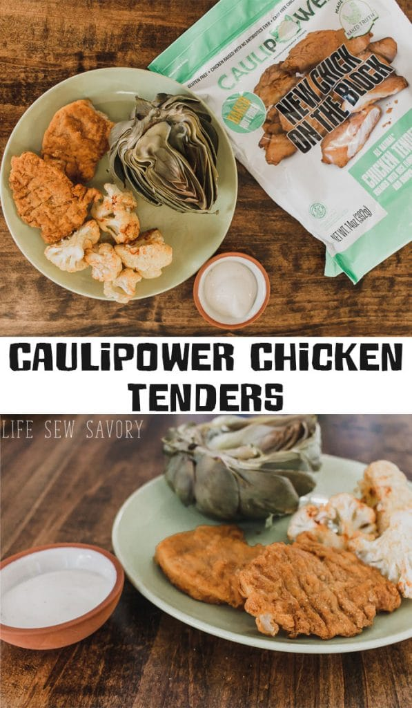 Caulipower Chicken Tenders meal