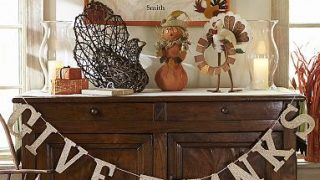 Give Thanks Banner – Thanksgiving Craft