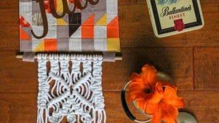 Fall Quilt Block Door Hanging Tutorial - Sew What, Alicia?