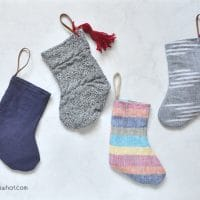 How to Sew Mini Stockings a Sewing Tutorial