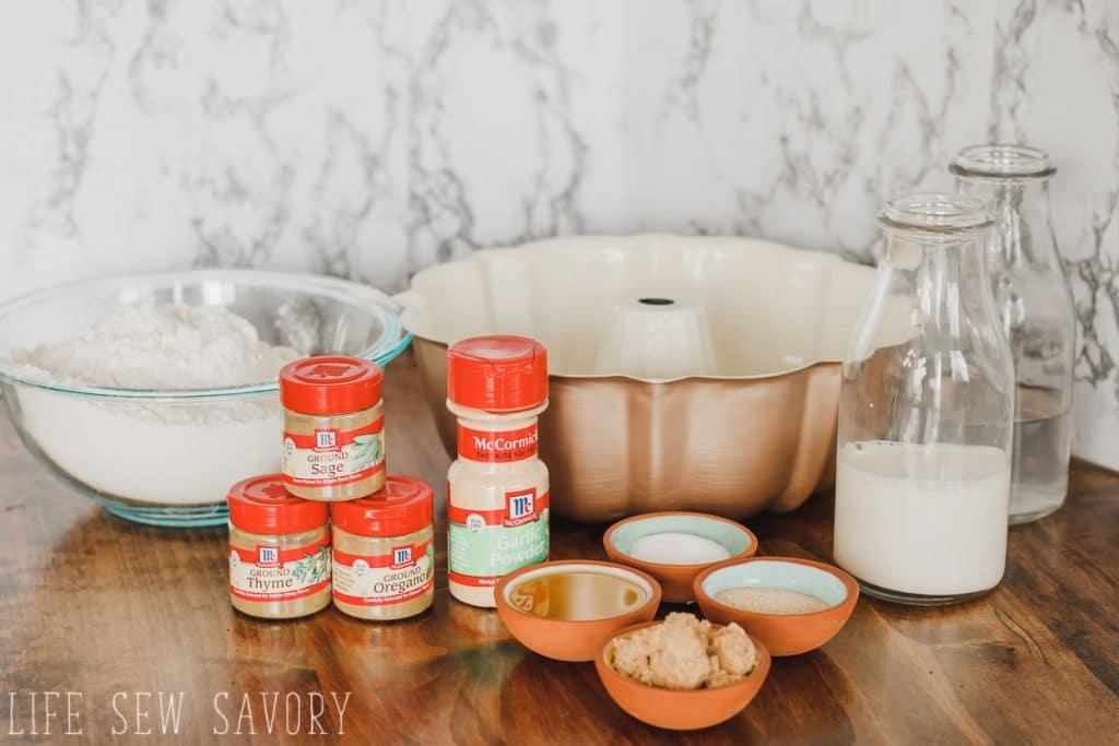 spiced savory bread recipe