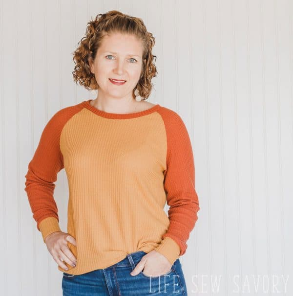 free sewing pattern for womens tops raglan style shirt