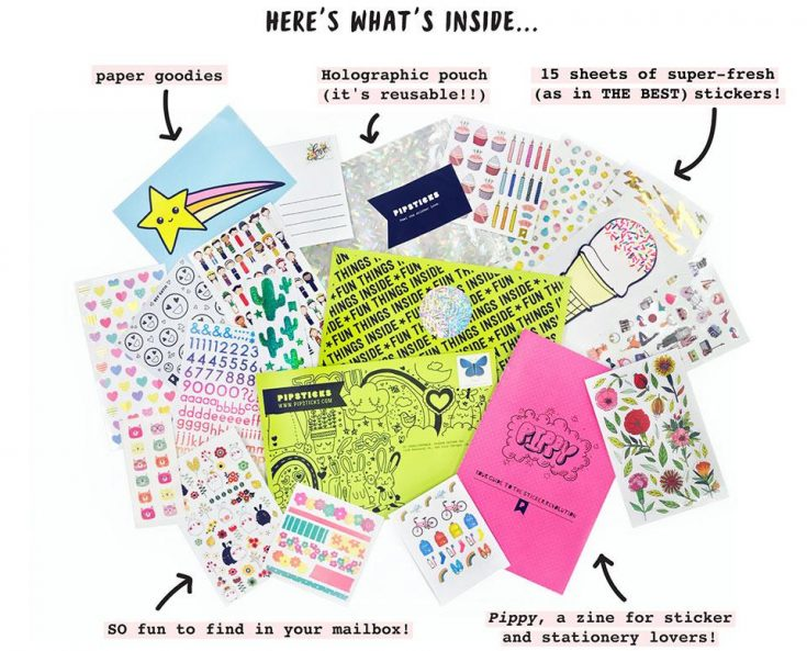 Sticker club subscriptions - for all ages of sticker lovers everywhere