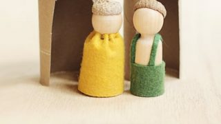 Woodland Folk Toys for Thanksgiving