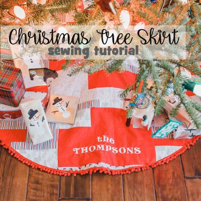 How to Make a Christmas Tree Skirt – Sewing Tutorial