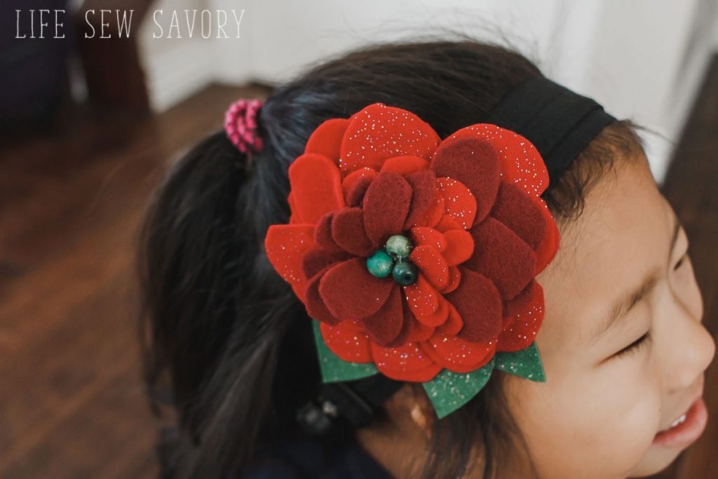 Big Flower hair clips