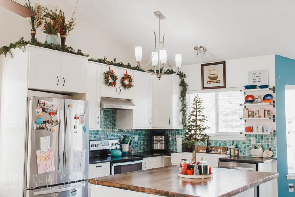 Christmas Kitchen Home Decor