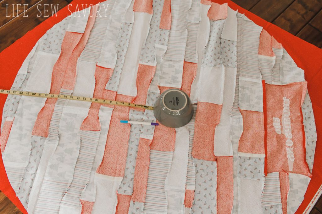 fabric christmas tree skirt