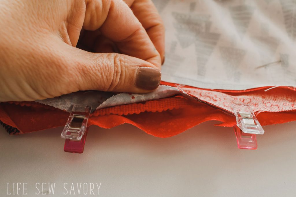 tree skirt sewing tutorial