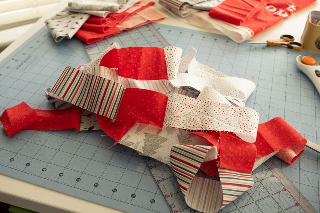 sew fabric together
