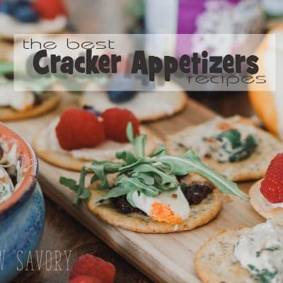 More Cracker Toppings recipes