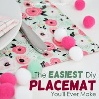How To Make A Placemat - Diy Valentines Decor