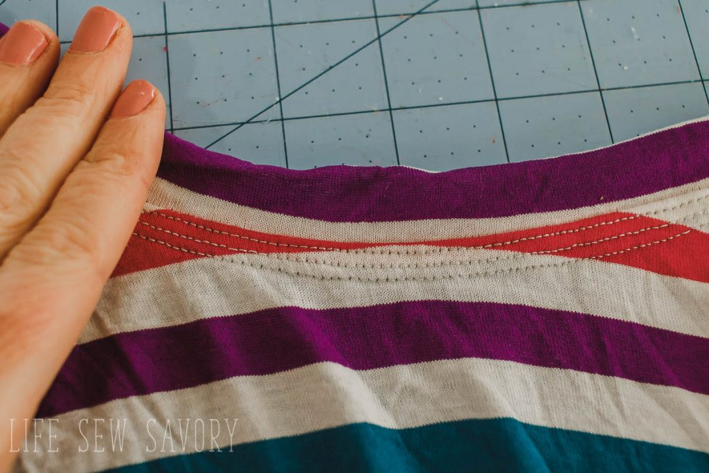 coverstitch top stitch