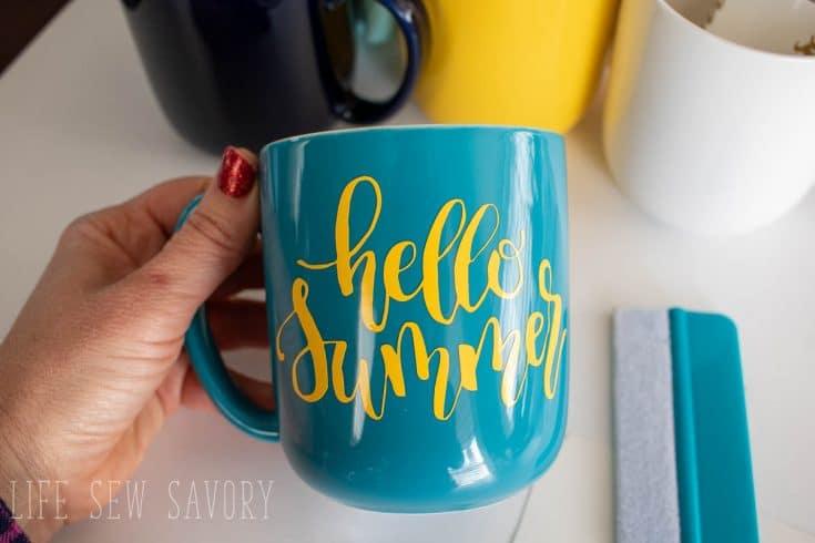 Free svg cut files – DIY Mugs