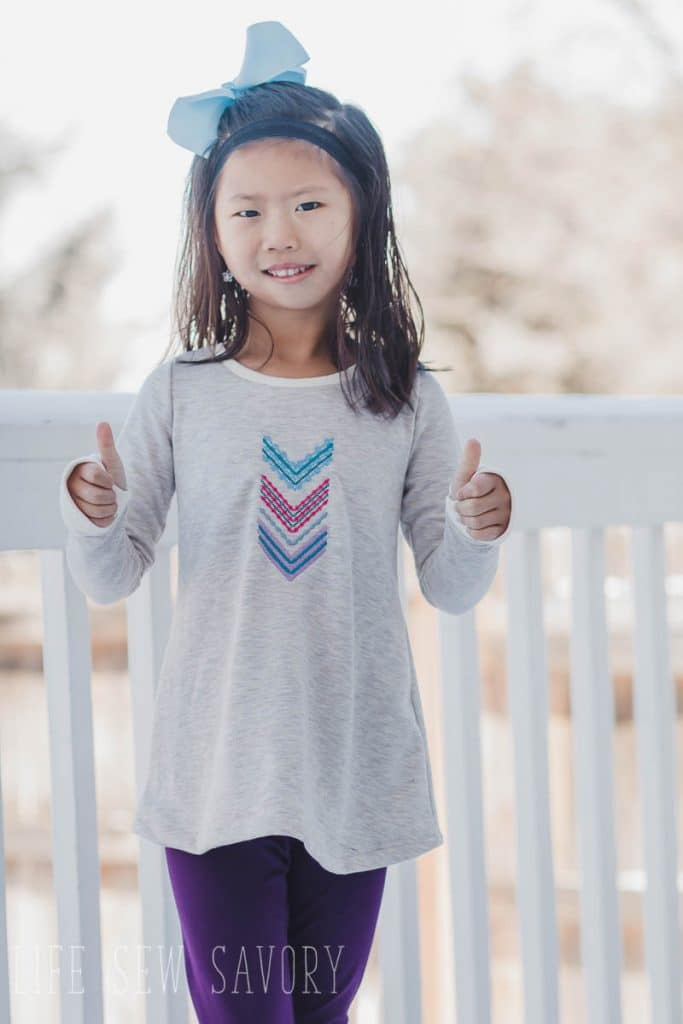 free shirt pattern for girls