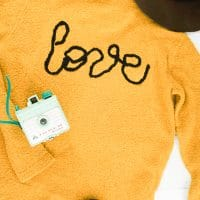 DIY Love Applique