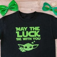 """May the luck be with you"" shirt"